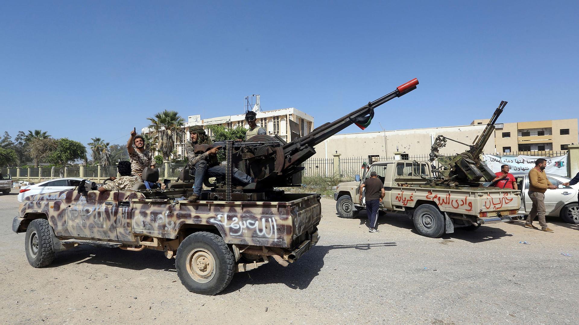 ليبيا-..-معركة-طرابلس
