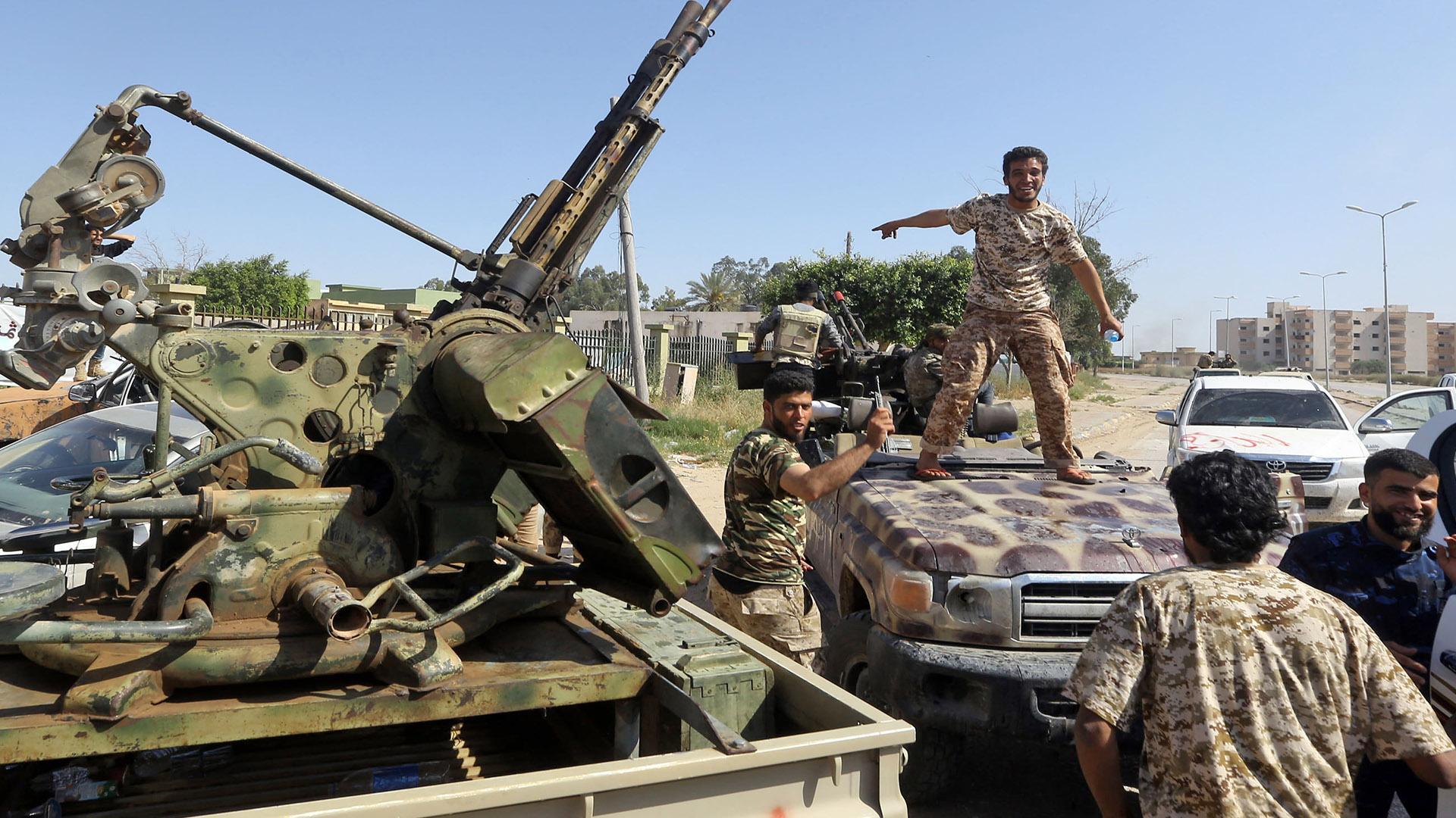 ليبيا .. تطورات معركة جنوب طرابلس
