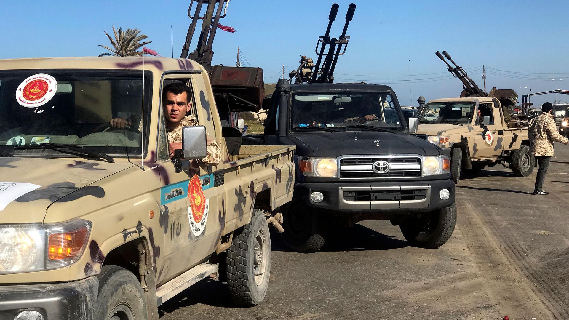 ليبيا .. تطورات معركة طرابلس
