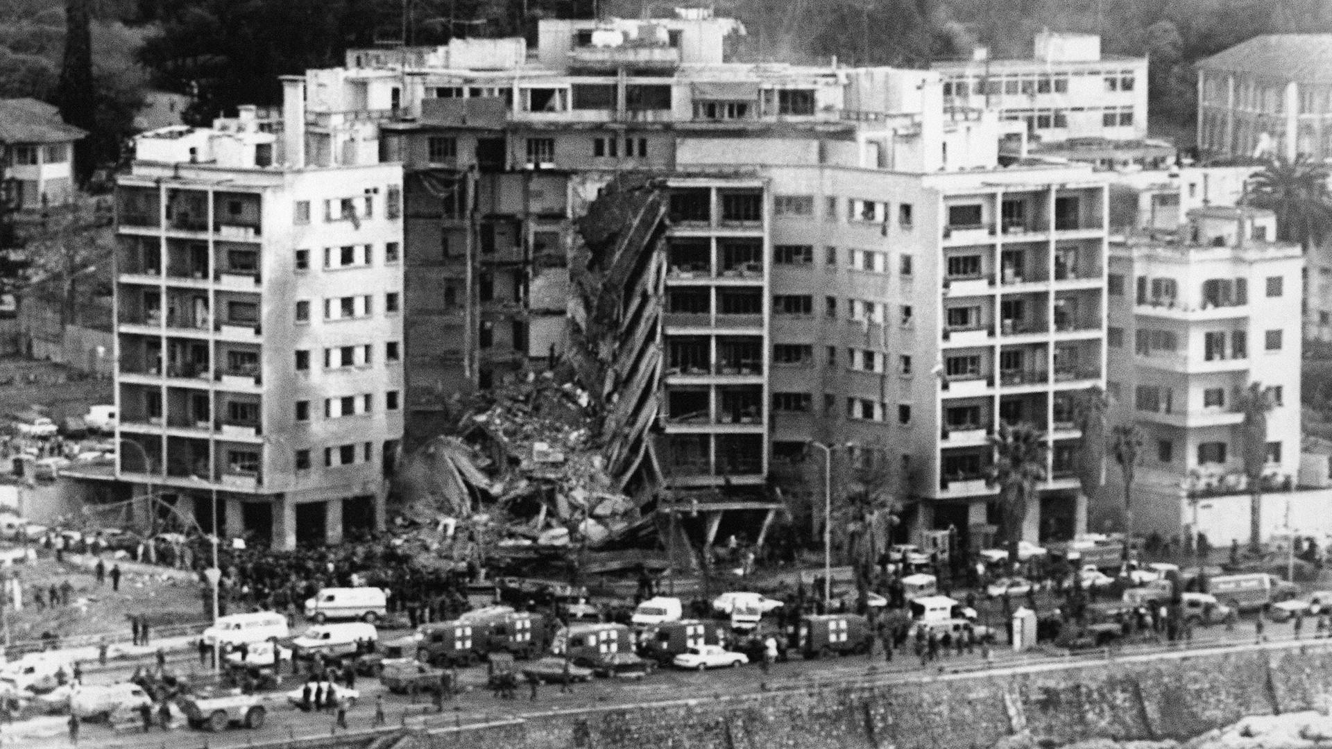 تفجير السفارة الأميركية - بيروت