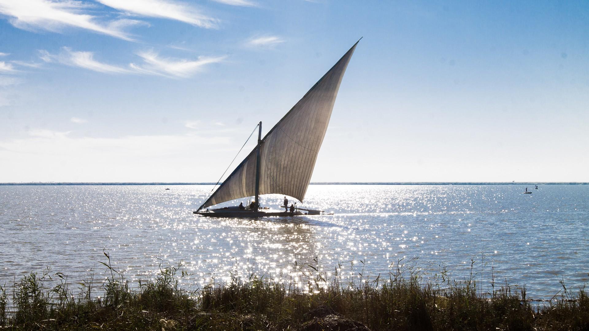 بحيرة البرلس - مصر