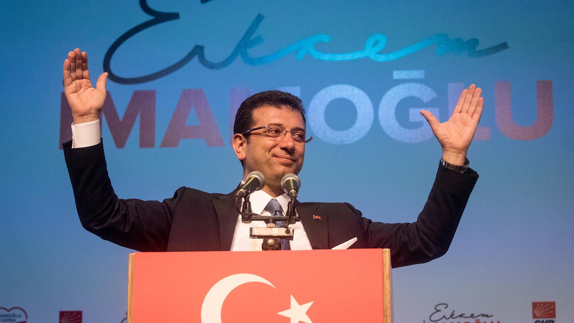 صعود إمام أوغلو لولاية اسطنبول
