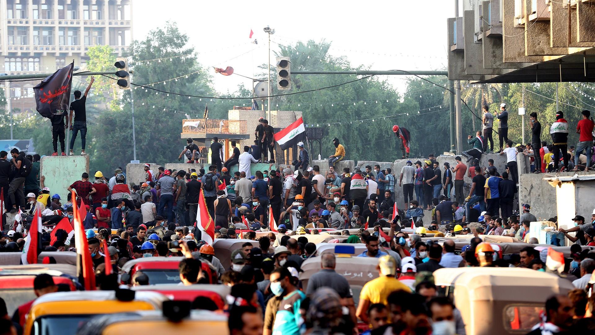 العراق .. مظاهرات مستمرة