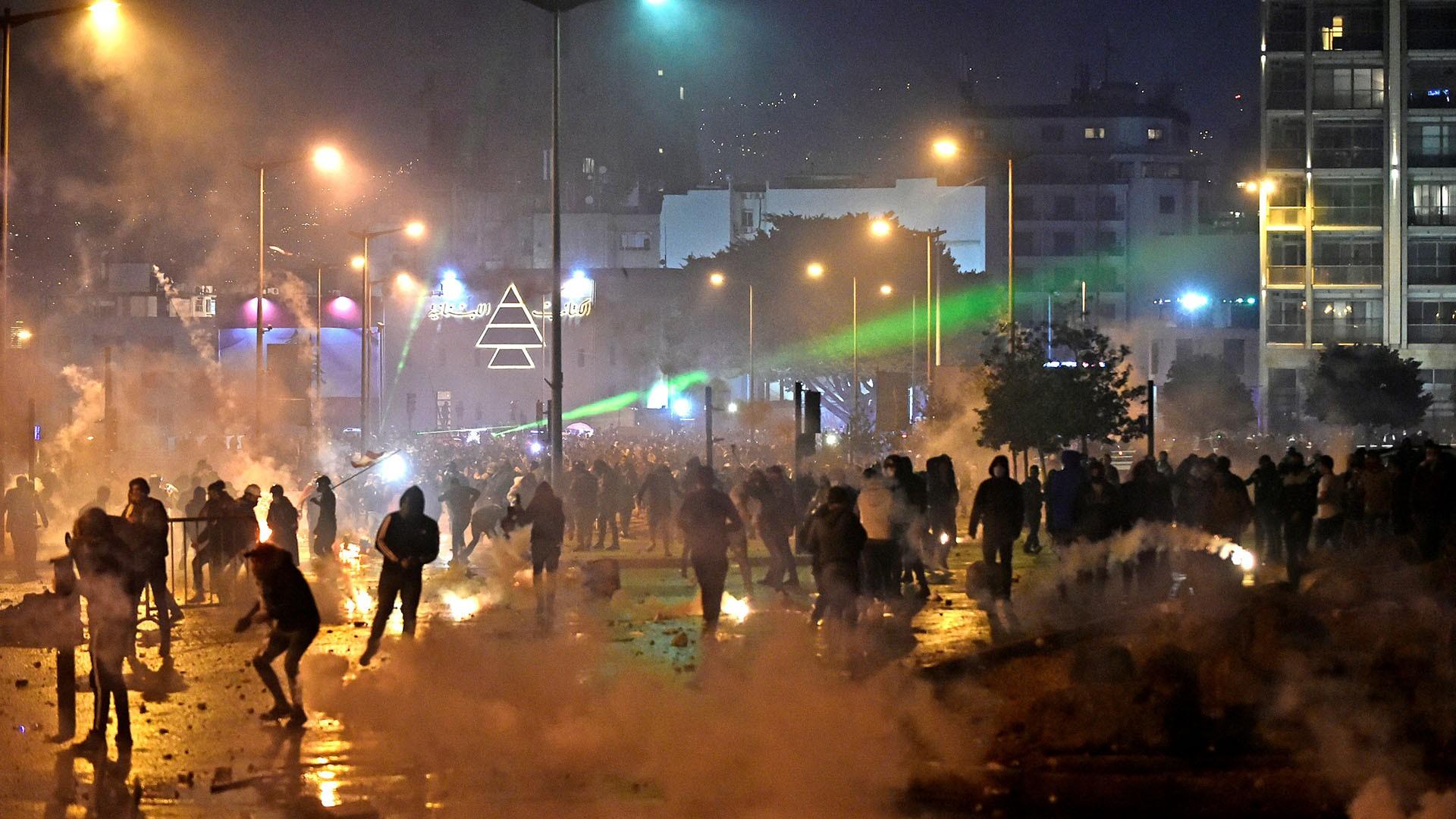 لبنان .. مظاهرات غاضبة