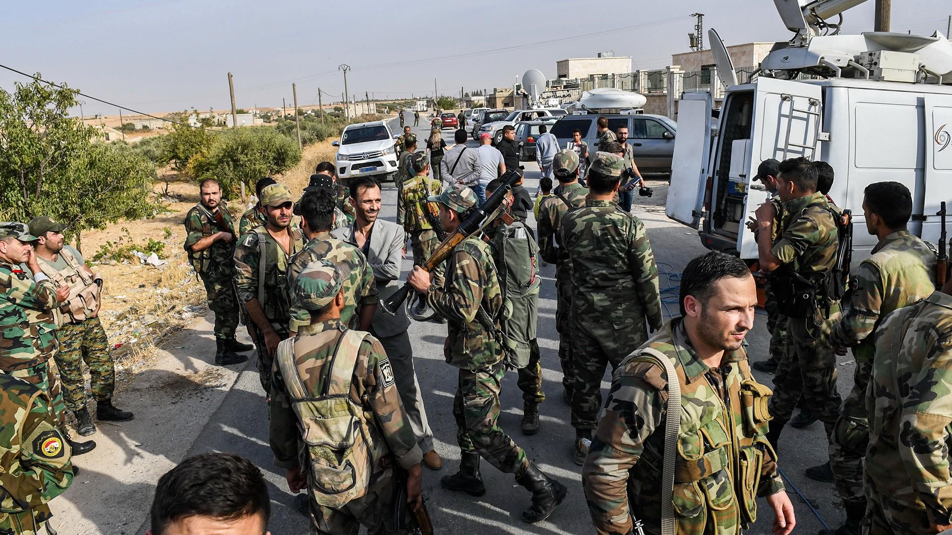 شمال سوريا .. معارك قوات النظام وفصائل المعارضة