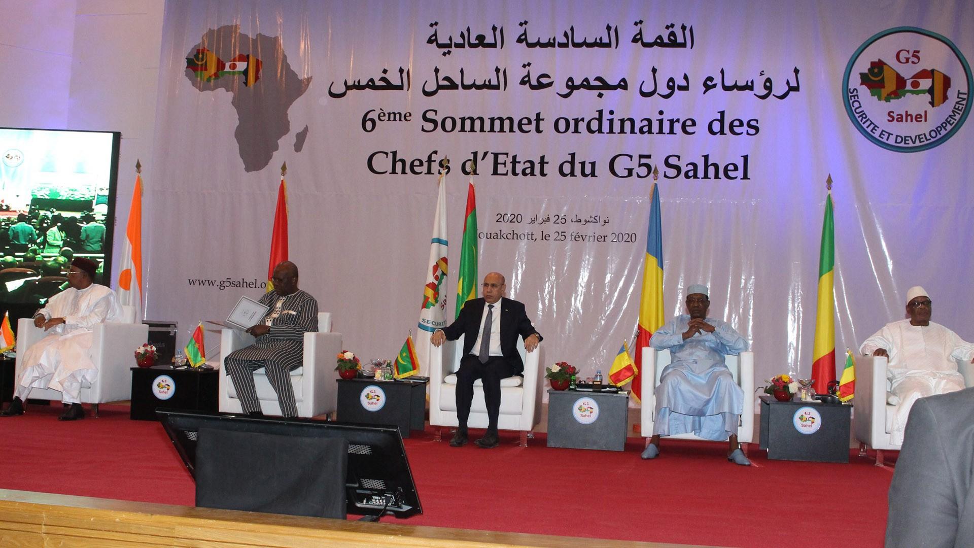موريتانيا .. اختتام قمة مجموعة دول الساحل