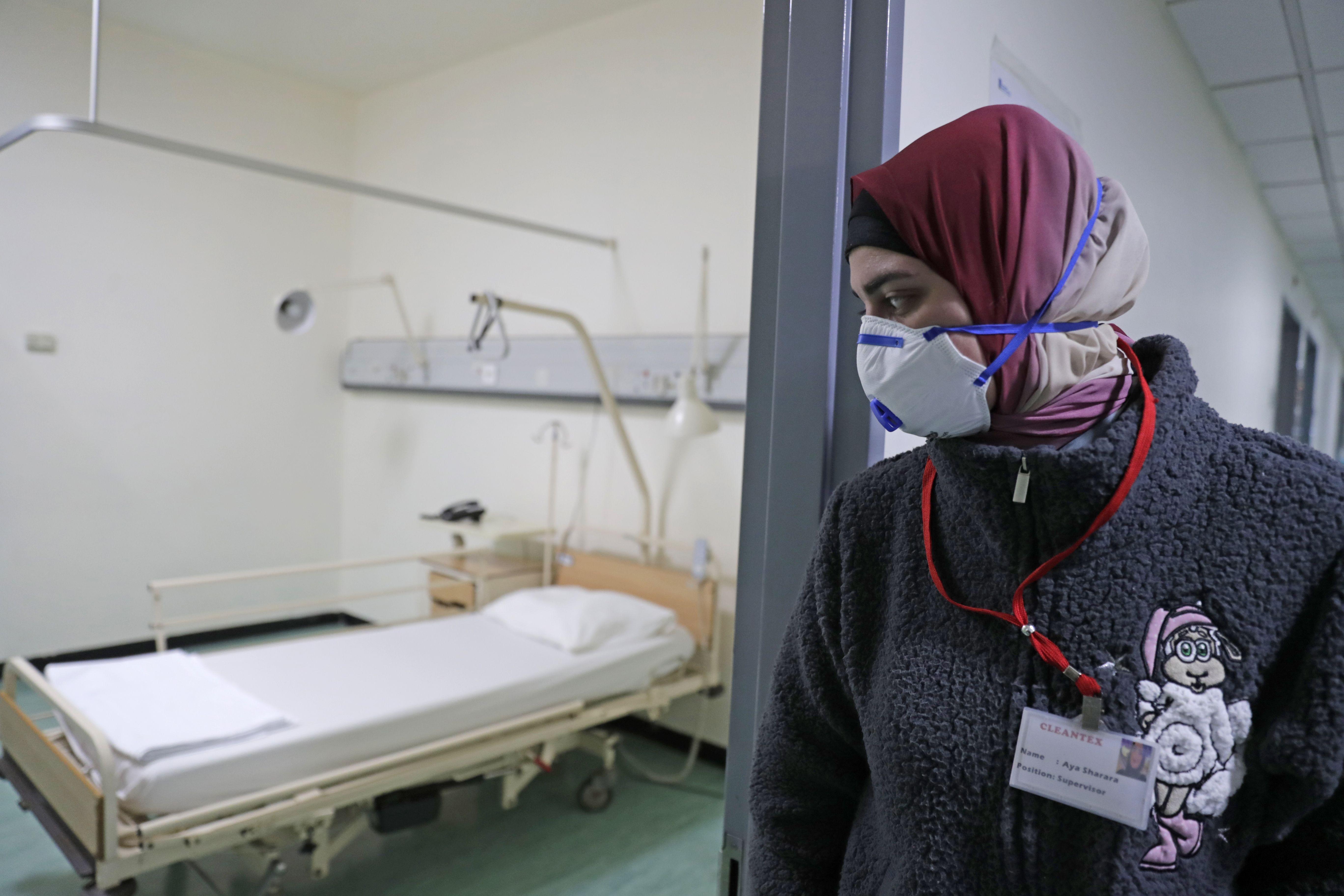 الأطقم الطبية اللبنانية في مواجهة وباء كورونا