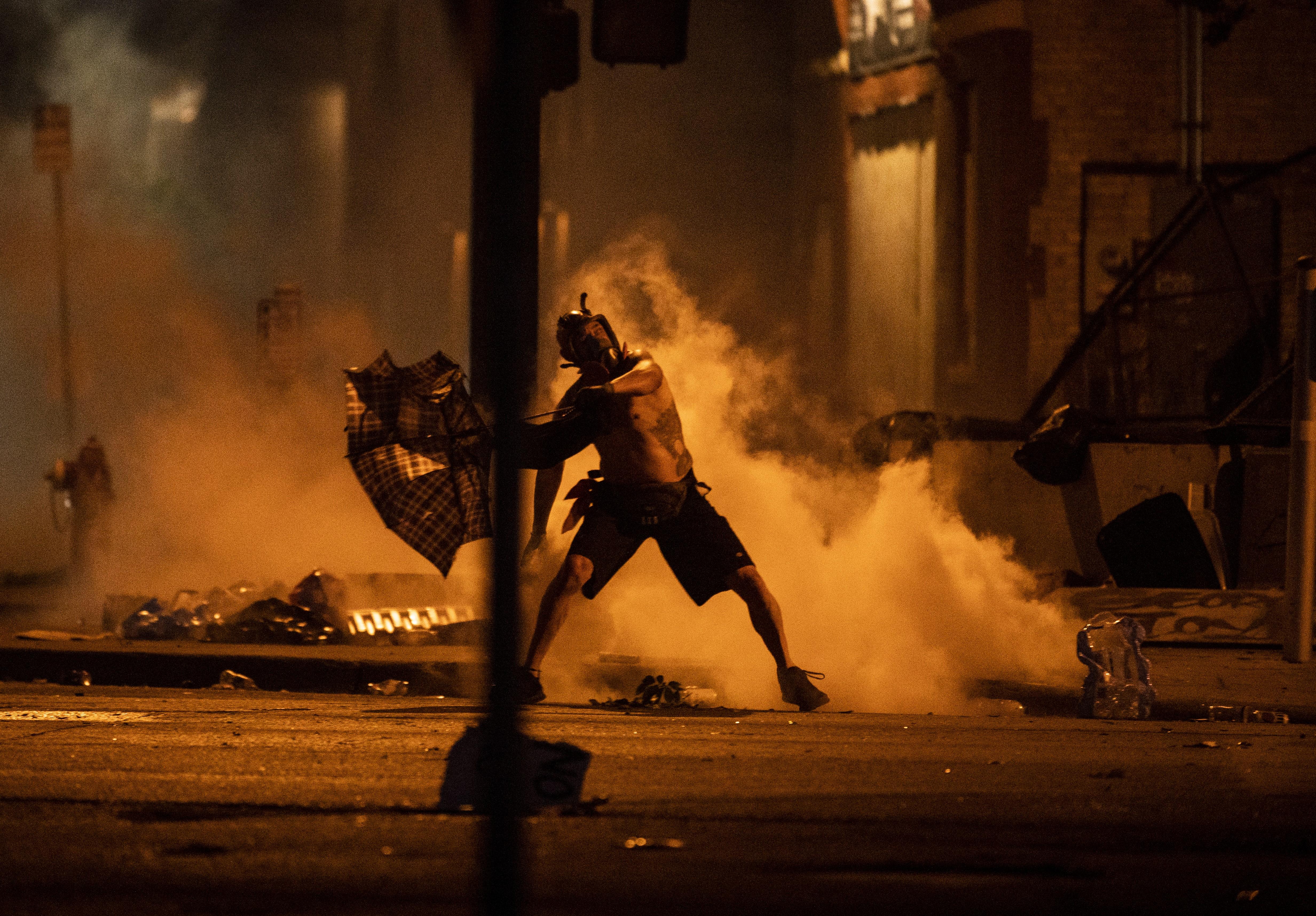 تأثير-استمرار-الاحتجاجات-على-حظوظ-ترمب-في-الانتخابات-القادمة--للخبر-بقية