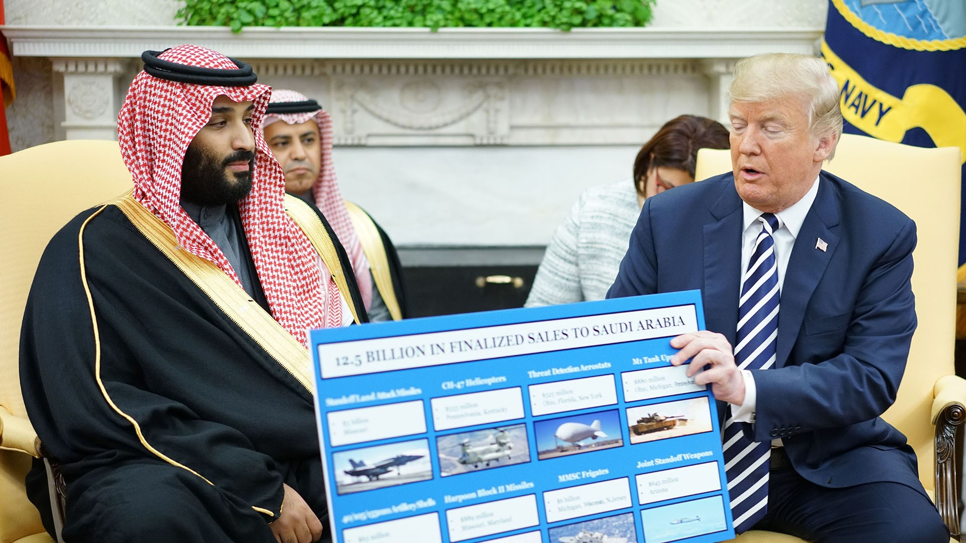 الولايات المتحدة .. جدل بشأن صفقة أسلحة مع السعودية