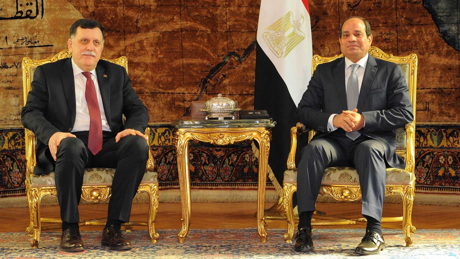 مصر وانسحاب السراج