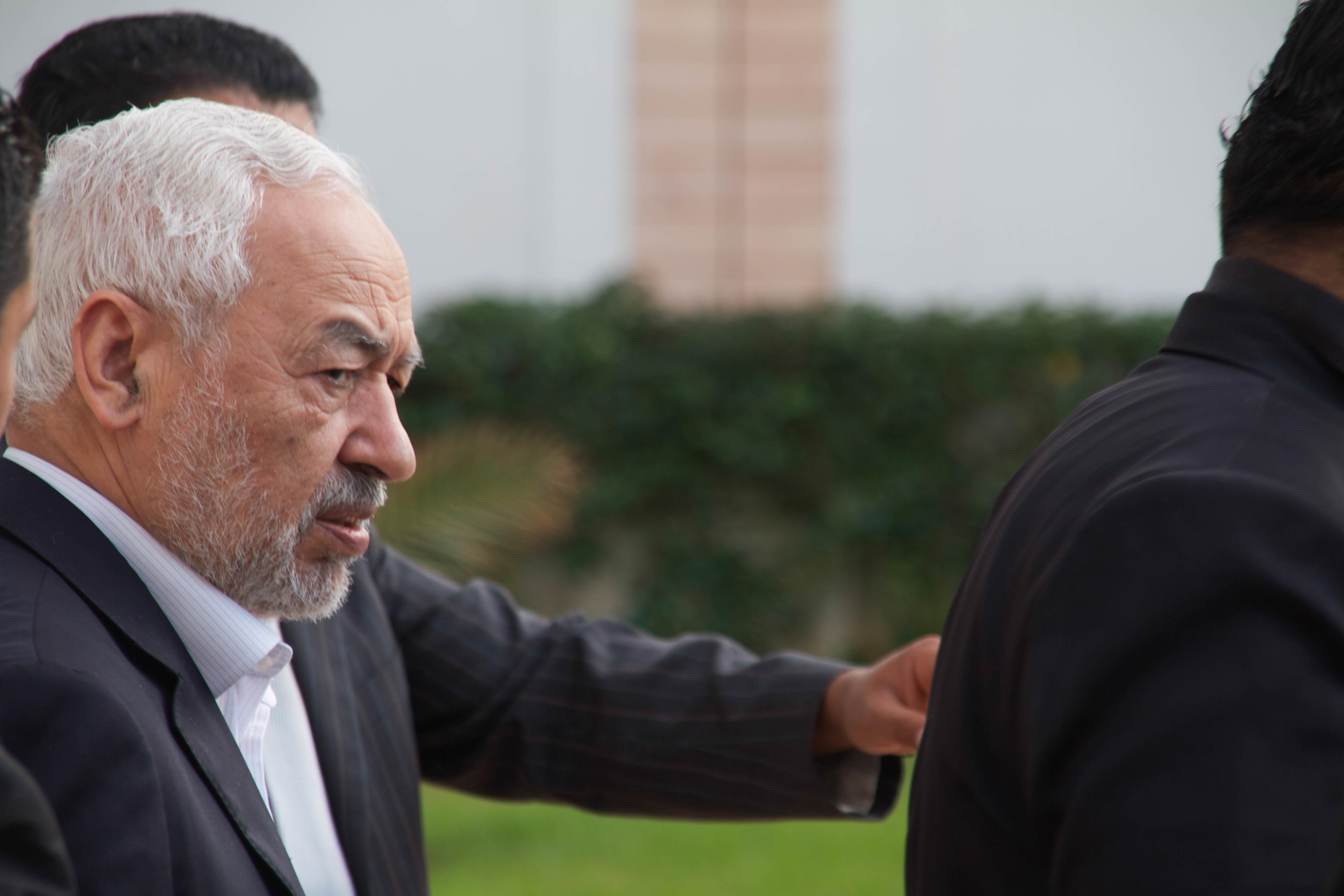مائة قيادي في حركة النهضة يطالبون زعيمها راشد الغنوشي بعدم الترشح لرئاسة الحزب