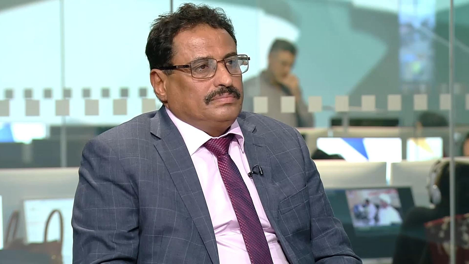 صالح الجبواني - وزير النقل اليمني